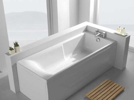 flache badewanne rechteckwanne greenline wassersparen leichter einstieg airquatec. Black Bedroom Furniture Sets. Home Design Ideas
